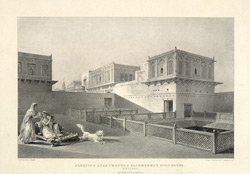 Sleeping Apartments Of Kashmeeree Mul's House. Benares.